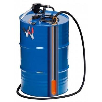 Kit bomba trasvase 220V - 60l/min con cuenta litro