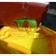 Cubeto flexible 300 l amarillo