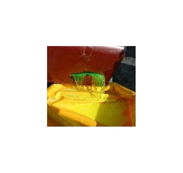 Cubeto flexible 600 l amarillo