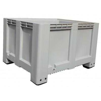 Caisse de rangement en PEHD de couleur (PEAD) de 610 litres