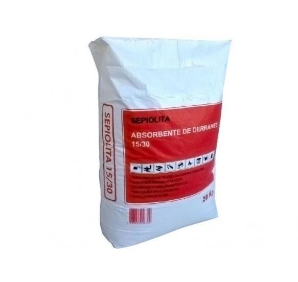 Sepiolita 15/30. Pack de 10 sacos de 20 kg