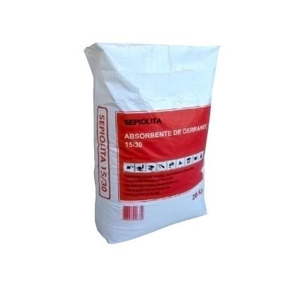 Sepiolita 15/30. Pack de 25 sacos de 20 kg