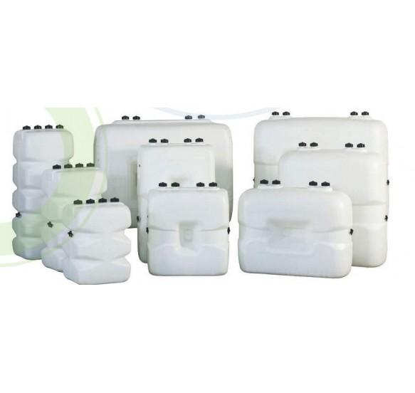 Depósito de polietileno de pared simple 700 litros