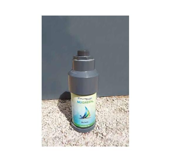 Filtración de hidrocarburos en aguas de lluvia. 3l/min