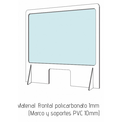 Gafas de protección UVEX I-VO azul/ naranja, lente incolora, supravisión HC-AF