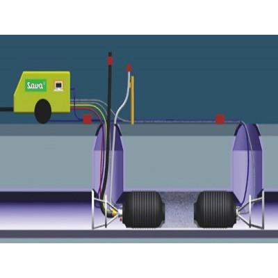 Obturador neumático con By-pass 800-1.800 mm