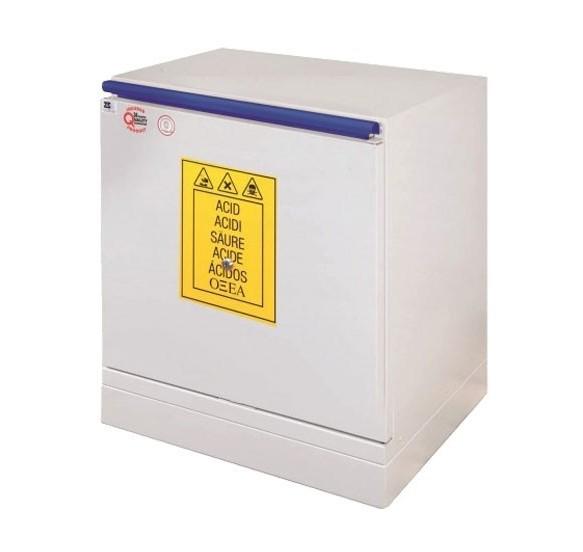 Armarios de seguridad para ácidos y bases bajo 1puerta