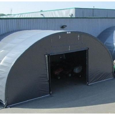 Túnel de 10x10x5m de alto sobre suelo de hormigón