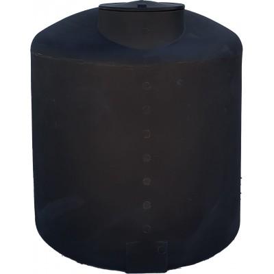 Depósito aéreo vertical cerrado botellón cilíndrico