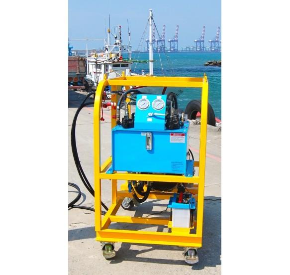 Central hidráulica 10 HP diésel