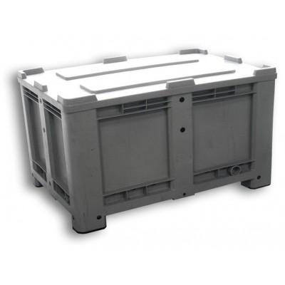 520 LITROS M - Contenedor (700 litros) con tapa, ruedas