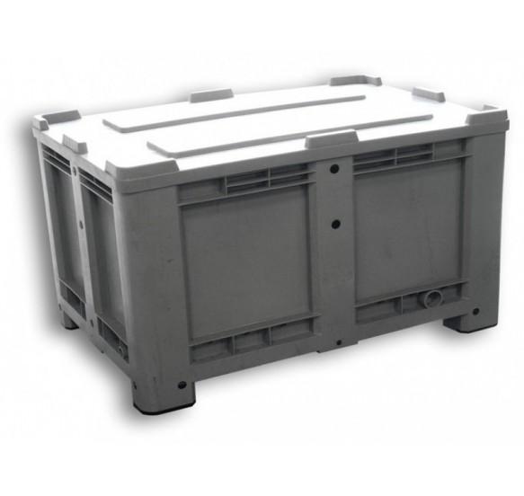 520 LITROS M - Contenedor (700 litros) con tapa, ruedas opcionales