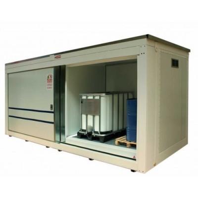 Contenedor modular REI120 para 4 GRGs