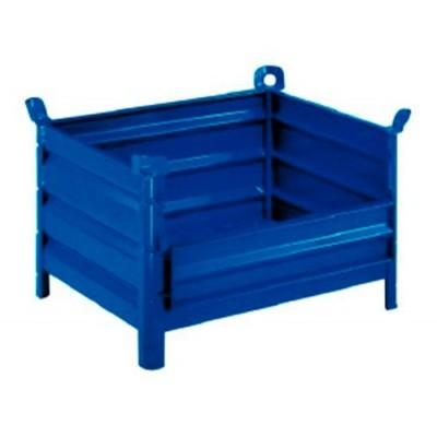 Boîte en tôle 1200x1000 avec panneau latéral à charnière