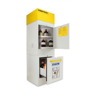 Gamme combistorage à 2 compartiments sans extraction type  90' tiroir extractible