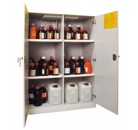 Armarios de seguridad para ácidos y bases línea WOODLINE ECO12