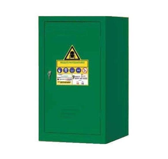 Armarios para productos fitosanitarios y pesticidas - SERIE PHITO 60/50V Color Verde