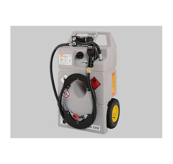 Surtidores Móviles para Gasóleo con bomba manual y surtidor. 100 litros