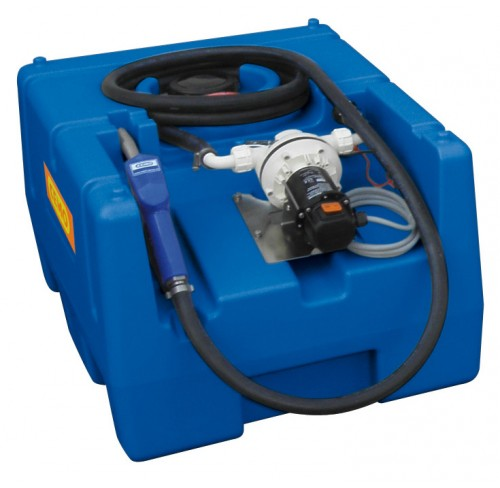 Blue-Mobil Easy 125 l con bomba eléctrica 24V