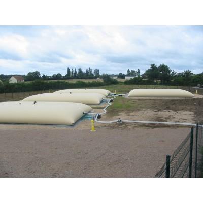 Cisterna agua ADB color crema o verde de 8m3 con equipos estándares (ver catálogo)
