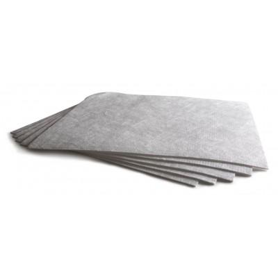 Absorbentes Industriales CLASIC HIDROCARBURO. Buen rendimiento y rápida absorción. Caja de 200 hojas