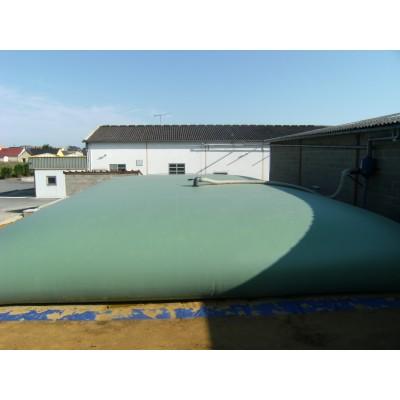 Cisternas para abonos líquidos color amarillo de 200m3