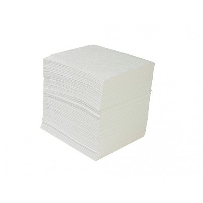 Absorbentes Industriales CLASIC HIDROCARBURO. Buen rendimiento y rápida absorción. Caja de 100 hojas