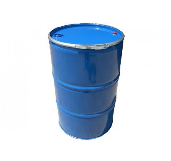 Bidón metálico de 200 L reutilizado