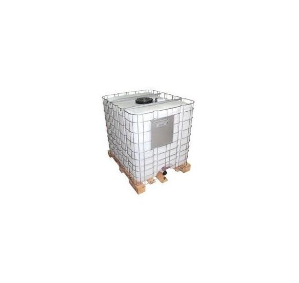 Depósito de polietileno (GRG) recuperado de 1.000 L para residuos