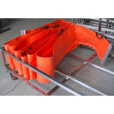 Barreras de contención de cerco plano 730 mm