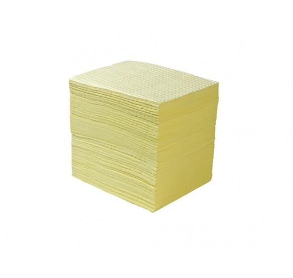 Absorbentes Industriales SUPERIOR QUIMICO. Alto Gramaje, Gran poder de Absorción y reforzado. Caja de 100 hojas