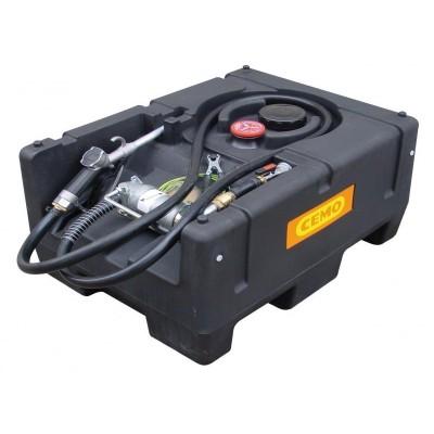 KS-Mobil Easy PE 120 l con bomba eléctrica 12V, 40l/min ATEX con tapa