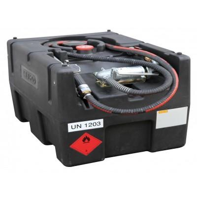 KS-Mobil Easy PE 190 l con bomba eléctrica 12V, 40l/min ATEX con tapa