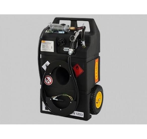 Surtidor Móvil para Gasolina tipo Carro con bomba manual