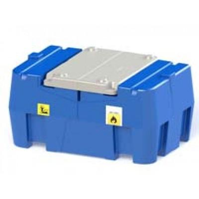 Posto de abastecimento móvel para gasóleo 440l com Bomba elétrica 12 V, 40 l/min e Fluxómetro Automático