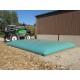 Cisterna recuperación agua de lluvia color crema o verde de 0,5