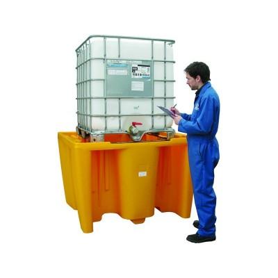Cubeto de polietileno para 1 GRG de 1.000 litros sin rejilla