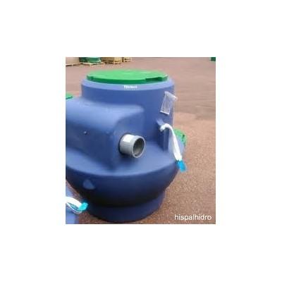 Separador de hidrocarburo con decantador y filtro coalscente