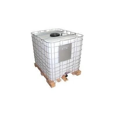 Depósito de polietileno (GRG) recuperado de 1.000 L para residuos. Homologado ADR.