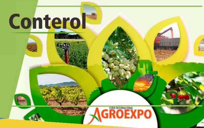 Conterol en Agroexpo 2019 del 23 al 26 de enero 2019