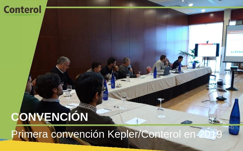 Primera convención Kepler/Conterol 2019